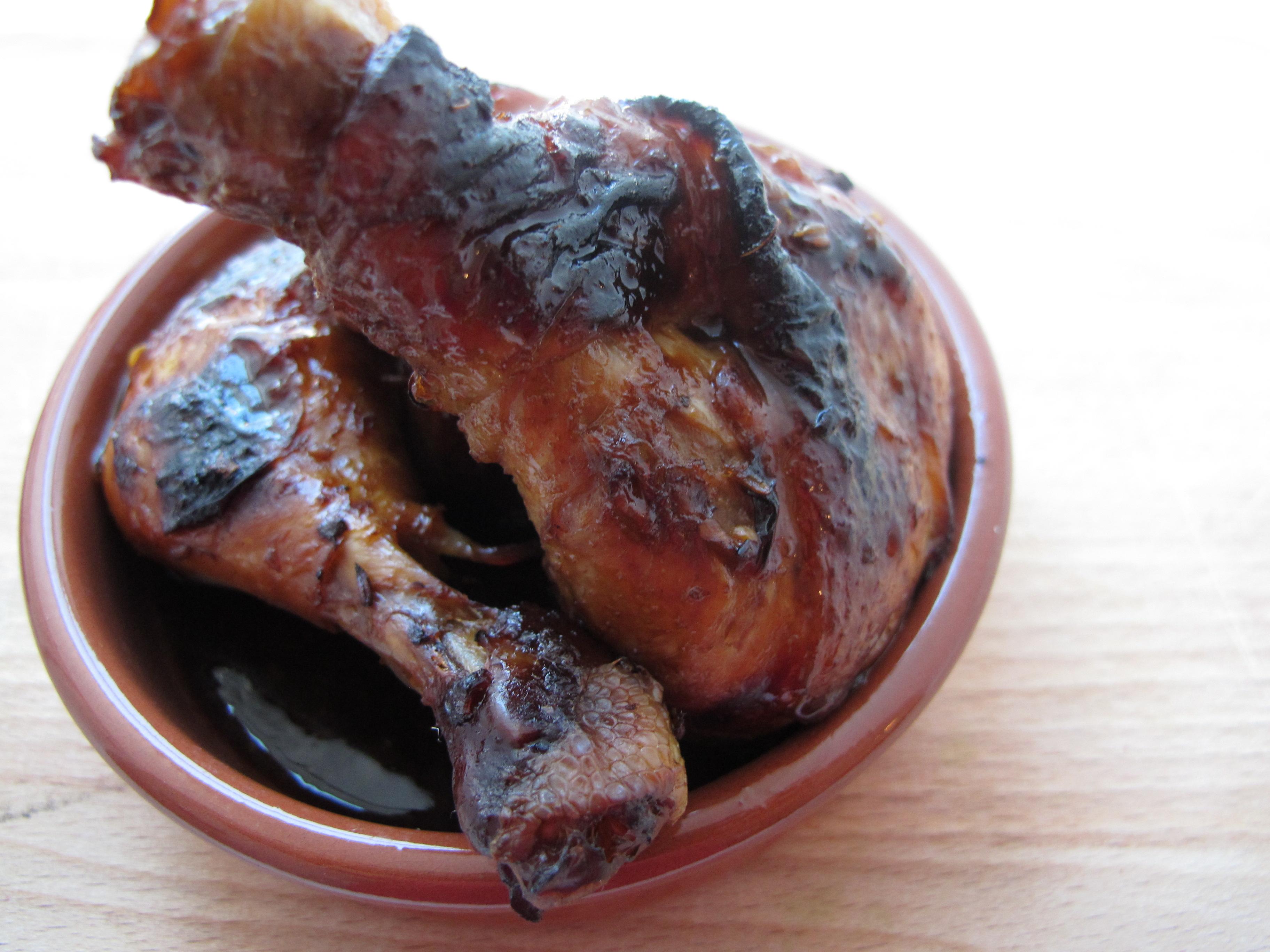 Deilige kyllinglår med lønnesirup,chili og appelsin, og hva du absolutt ikke skal servere pådate.